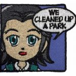 We Cleaned Up a Park Superhero Patch