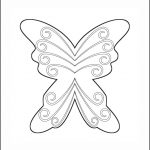 Superhero Paper Dolls | Delilah Costume Wings Outline