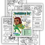"Brownie Superhero Household Elf Badge And Daisy ""Use Resources Wisely"" Green Petal Download"