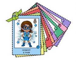 Girl Scout Law Cards