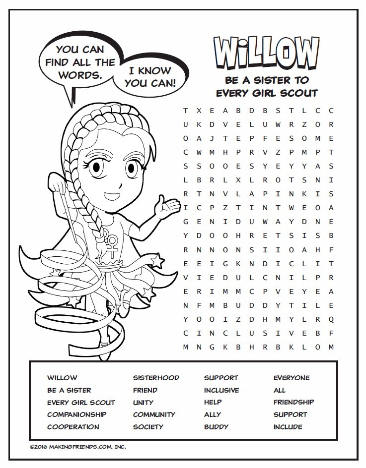 superhero willow wordsearch furthermore sister girl scout coloring pages 1 on sister girl scout coloring pages also sister girl scout coloring pages 2 on sister girl scout coloring pages including sister girl scout coloring pages 3 on sister girl scout coloring pages moreover sister girl scout coloring pages 4 on sister girl scout coloring pages