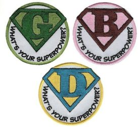 Girl Scout Superhero Patches