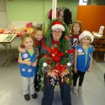 Girl Scout Christmas Party for all Age Levels