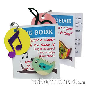 Song Book Girl Scout Friendship SWAP Kit via @gsleader411