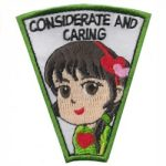Considerate & Caring Superhero Patch