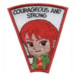 Courageous & Strong Superhero Patch