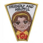 Friendly & Helpful Superhero Patch