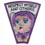 Respect Myself & Others Superhero Patch