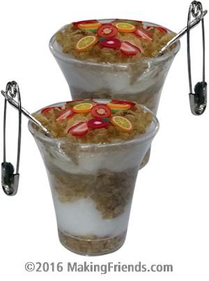 Yogurt Parfait Girl Scout SWAP