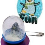 Snow Globe Girl Scout SWAP