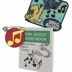 Mini Girl Scout Song Book SWAPs with Free Patch