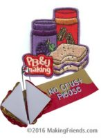 Girl Scout Peanut Butter SWAP