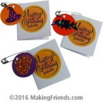 Juliette Low Halloween Birthday Card SWAPs