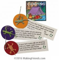 Camping Girl Scout SWAP