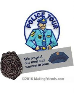 Girl Scout Police Fun Patch