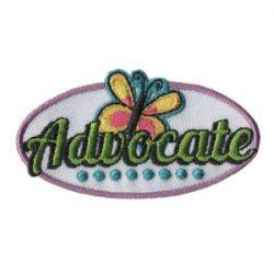 Advocate Girl Scout Fun Patch