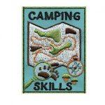 Girl Scout Camping Fun Patch