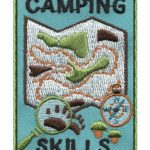 Girl Scout Camping Skills Fun Patch