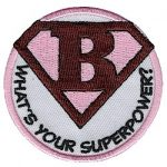Girl Scout Superhero Fun Patch