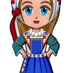 Superhero Delilah France International Paper Doll