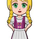 Superhero Willow Germany International Paper Doll