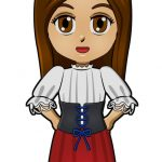 Superhero Harmony Italy International Paper Doll