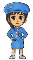 Japan Girl Guide Uniform