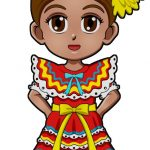 Superhero Sincerity Mexico International Paper Doll