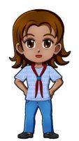 Mexico Girl Guide Uniform
