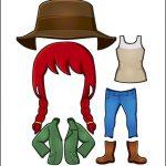 Superhero Paper Dolls | Freedom Australia Costume