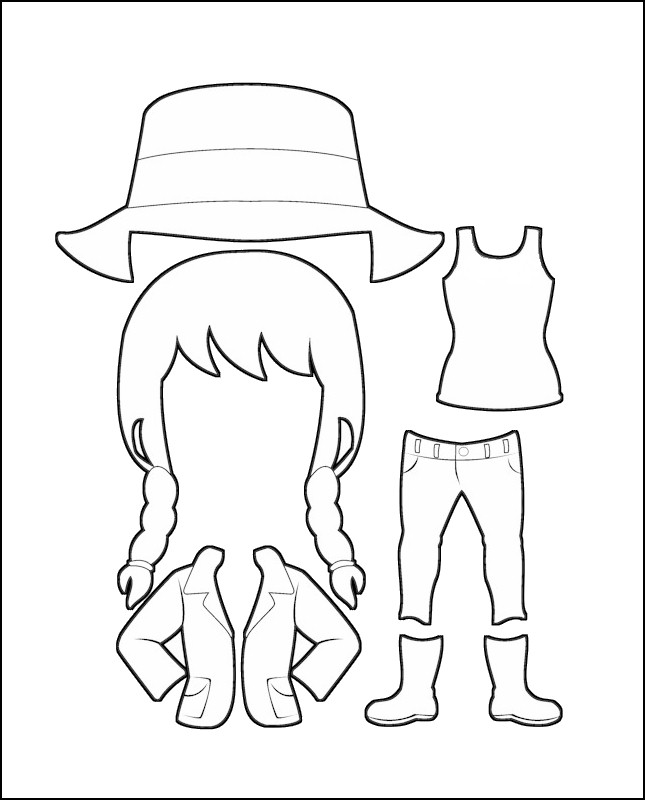 Superhero Freedom's Costume for Australia Outline