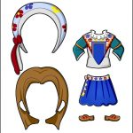Superhero Paper Dolls | Delilah France Costume
