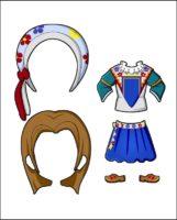 Superhero Delilah's Costume for France