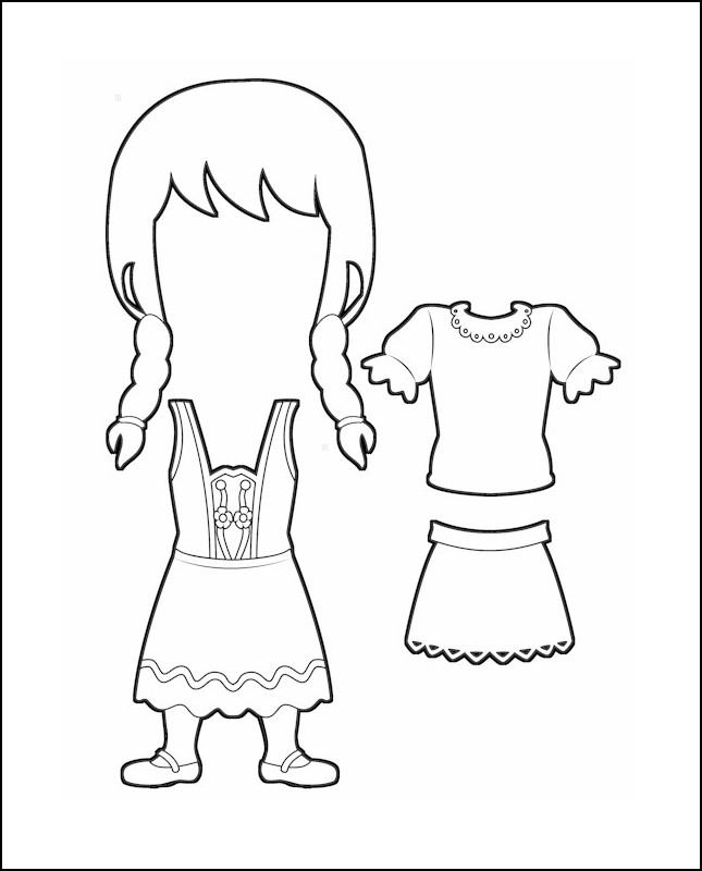 Superhero Willow's Costume for Germany Outline