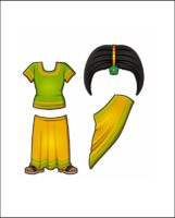 Superhero Serafina's Costume for India