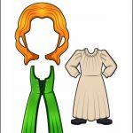 Superhero Paper Dolls | Justice Ireland Costume