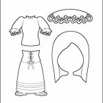 Superhero Paper Dolls | Harmony Italy Costume Outline