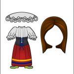 Superhero Paper Dolls | Harmony Italy Costume