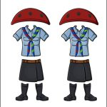Superhero Paper Dolls | Harmony Italy Girl Guide Uniform