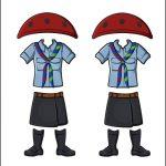 Superhero Paper Dolls | Harmony Italy Girl Guide Uniform