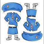 Superhero Paper Dolls | Charity Japan Girl Guide Uniform