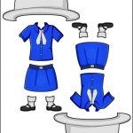Superhero Paper Dolls | Prudence Madagascar Girl Guide Uniform