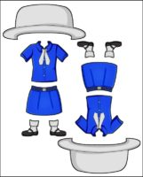 Superhero Prudence's Girl Guide Uniform for Madagascar