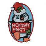 Girl Scout Holiday Party Fun Patch