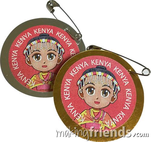 The Kenya International Costume Friendship Swap Kit features Superhero Twilight in traditional costume. No scissors or glue needed. Fun and easy too. Kit makes 24. Looking for more ideas for your Kenya Thinking Day booth? You'll find patches, games, crafts and more on our page Kenya | Ideas for Thinking Day*. via @gsleader411