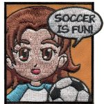 Superhero Sincerity Soccer Patch
