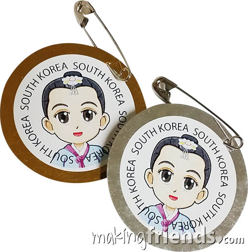 Girl Scout South Korea Thinking Day SWAP Kit via @gsleader411
