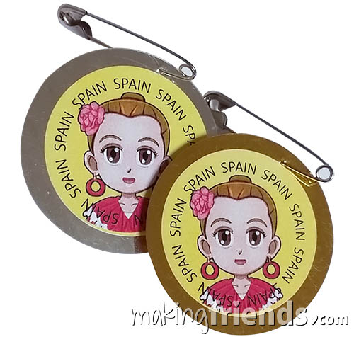 Girl Scout Spain Thinking Day SWAP Kit via @gsleader411