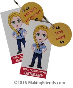 Germany Girl Scout SWAP