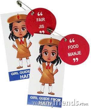 Girl Scout Thinking Day Learn SWAP Kit Haiti via @gsleader411
